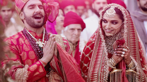 Ranveer Singh & Deepika Padukone Weddign Pics