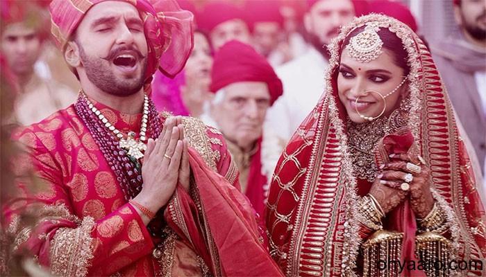 Deepika Ranveer pics marriage image