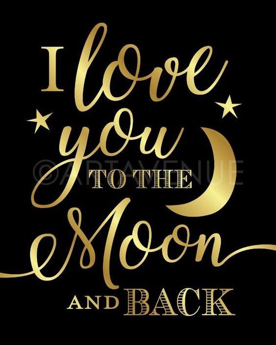 Good night for love wallpaper