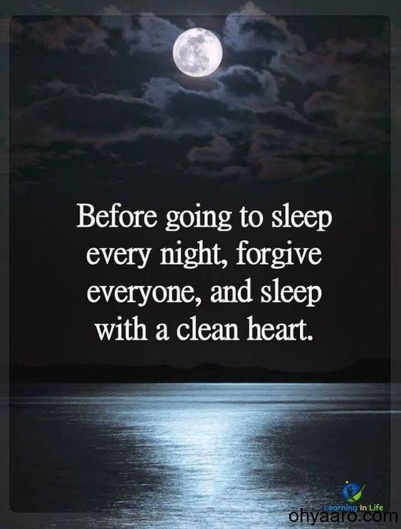 Good Night status