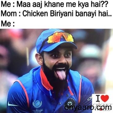 Virat Kohli Funny Photo