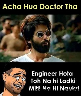 Kabir Singh Movie Funny Memes
