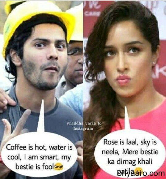 Varun DhawanFunny Meme
