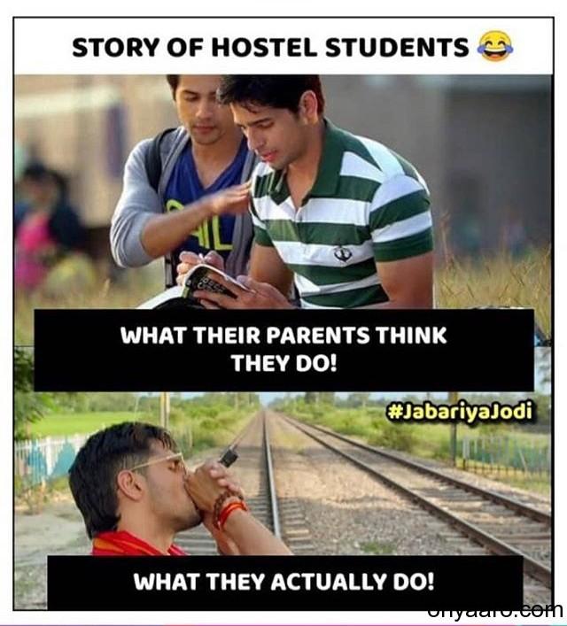 Sidharth Malhotra & Varun Dhawan Funny Memes Image