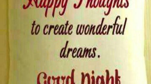 Good Night Wishes Status