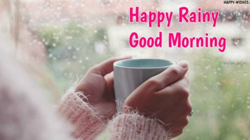 Rainy Good Morning Wishes