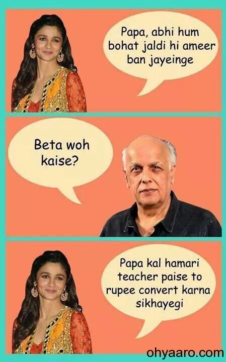 Alia Bhatt Funny Jokes