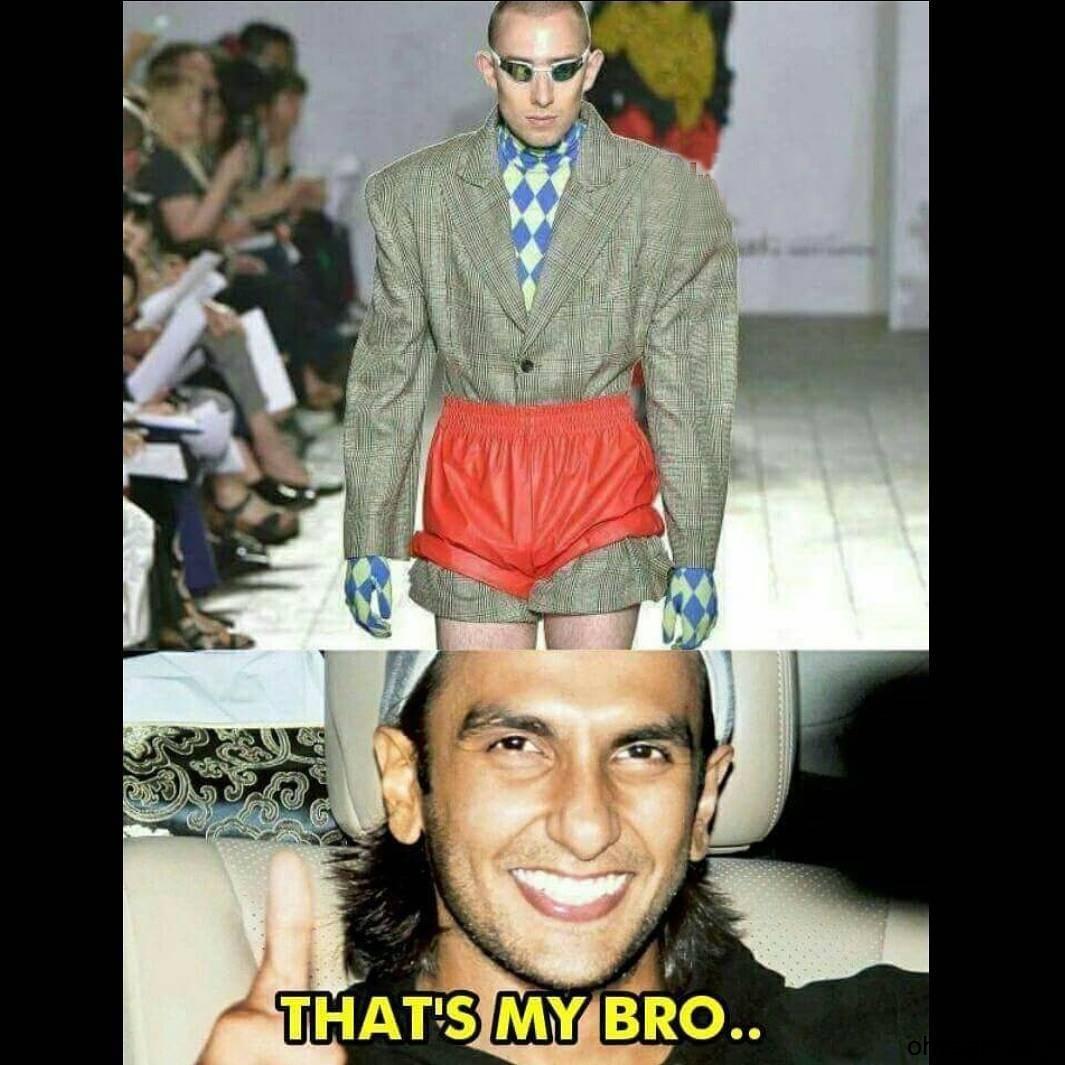 Funny Ranveer Singh Memes