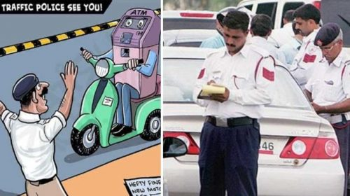 Traffic Police Funny Image
