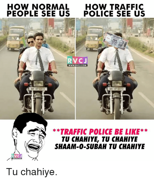 Funny Traffic Police Memes