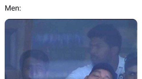 Ravi Shastri Funny Pic - Indian Cricket Funny Memes