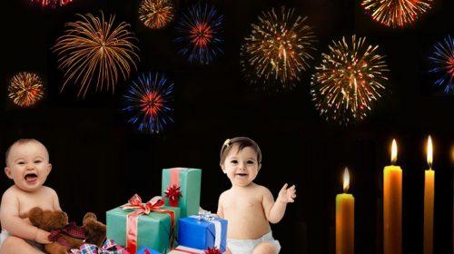 baby image of diwali