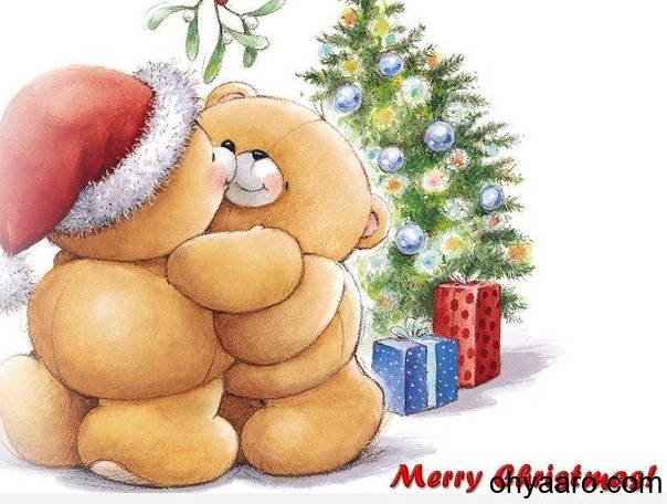 Teddy Christmas Picture