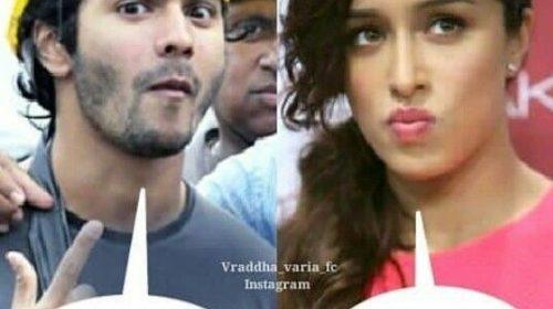 Varun Dhawan and Sharadha Kapuar Funny Pic