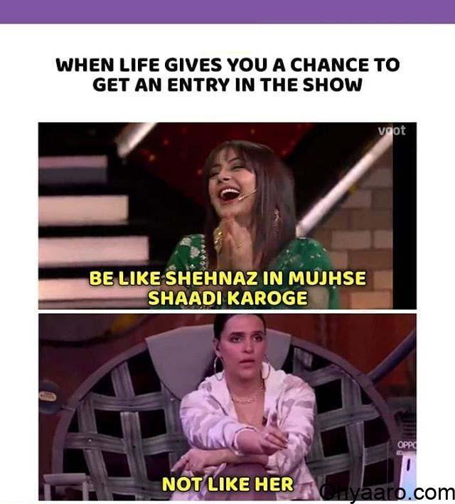 Neha Dhupia Funny Picture
