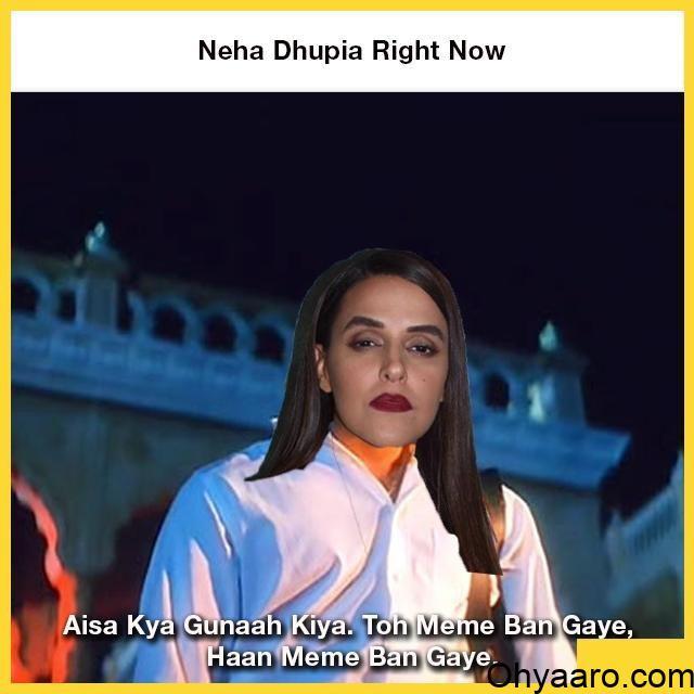 Download Neha Dhupia Funny Pics