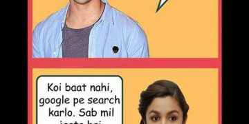 Alia Bhatt Varun Dhawan Funny Photo Download