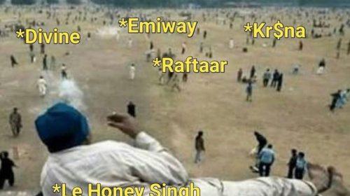 Yo Yo Honey Singh Funny Pictures - Honey Singh Funny Pic