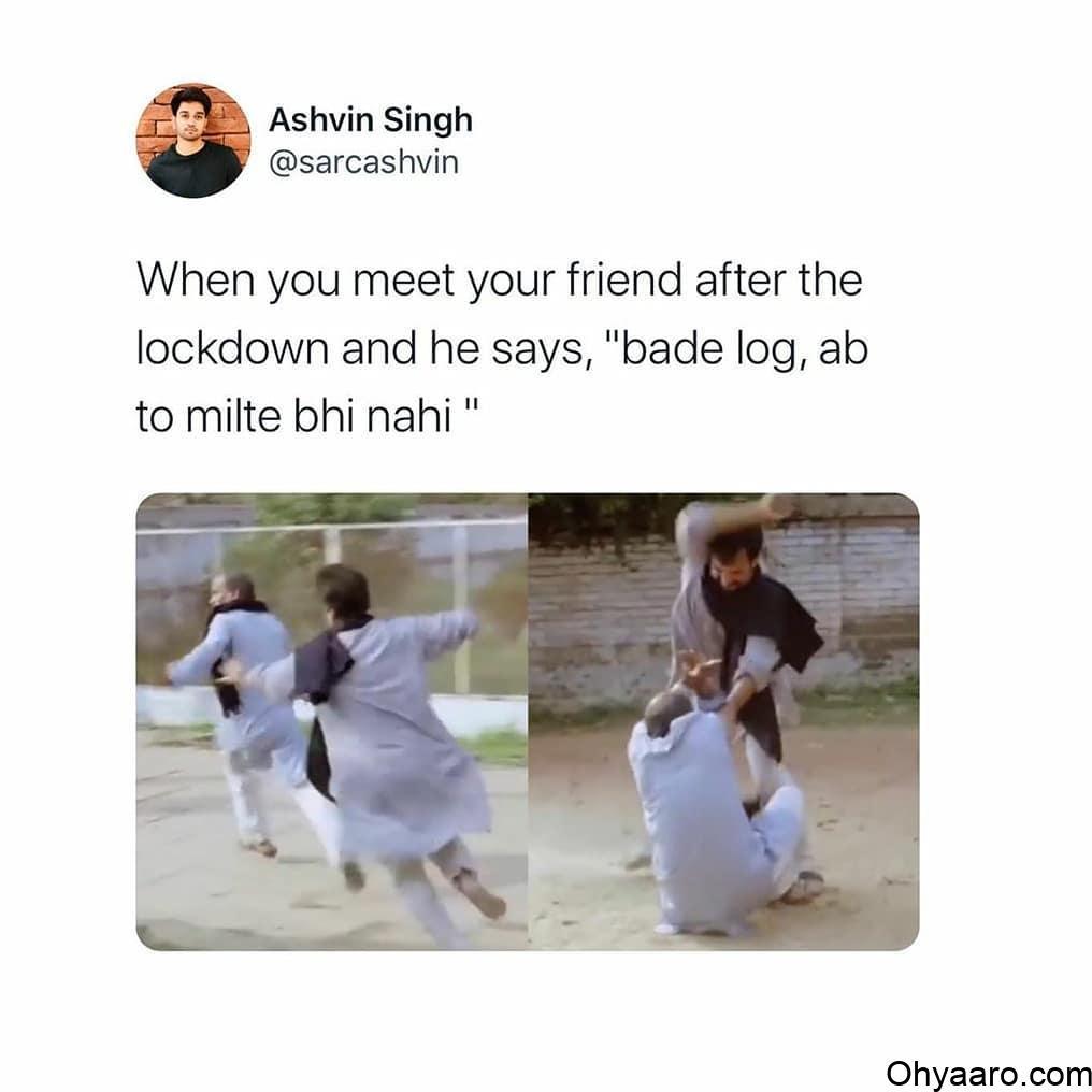 Lockdown Funny Meme