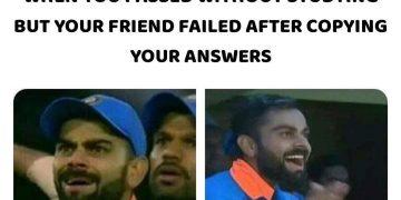 Virat Kohli Funny Pic