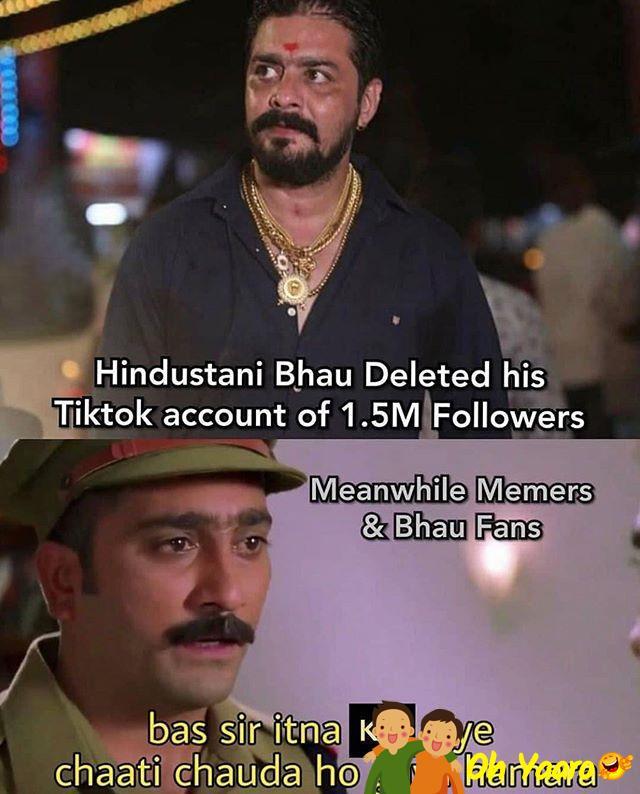 Hindustani Bhau Meme