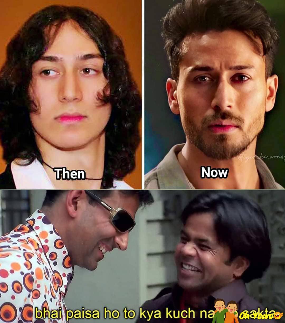 Tiger Shroff Funny Memes