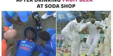 Indian Cricketer Funny Pic - Indian Cricket Team Photo