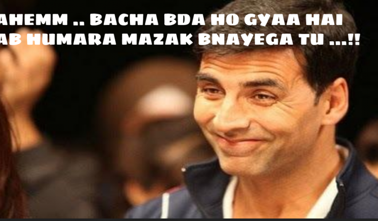 Akshay Kumar Funny Joke Photo