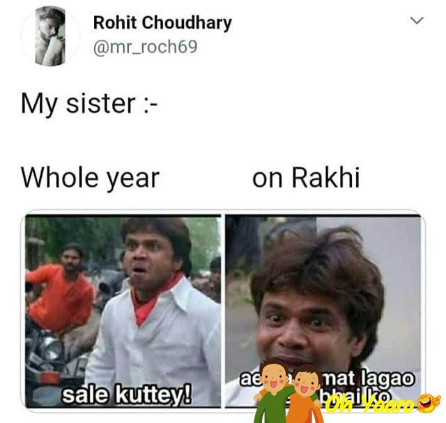 Raksha Bandhan Funny Images