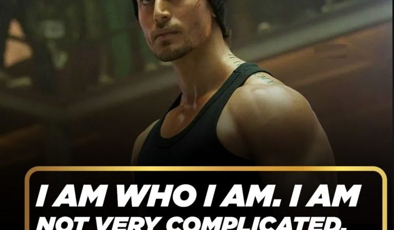 Attitude & Motivational Quotes Tiger Shroff – Tiger Shroff Motivational Quotes