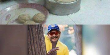 Ravi Shastri Funny Pic
