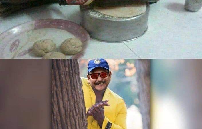 Ravi Shastri Funny Photo