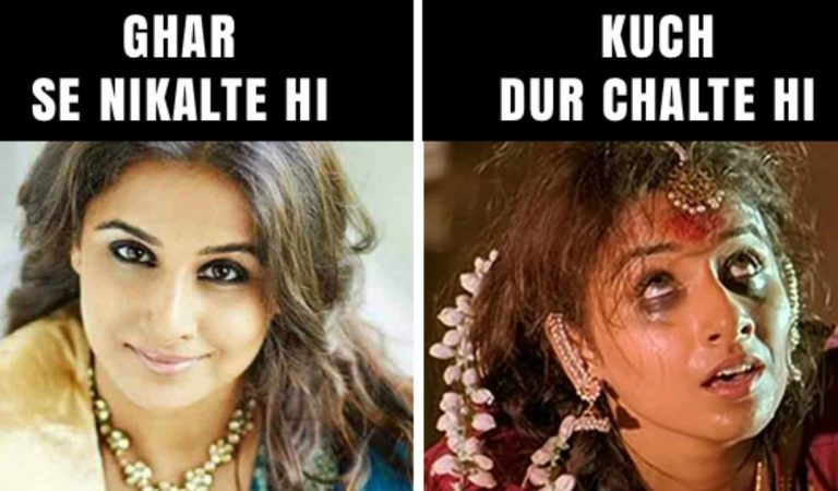 Vidya Balan Funny Pic –  Bollywood Actress Funny Memes