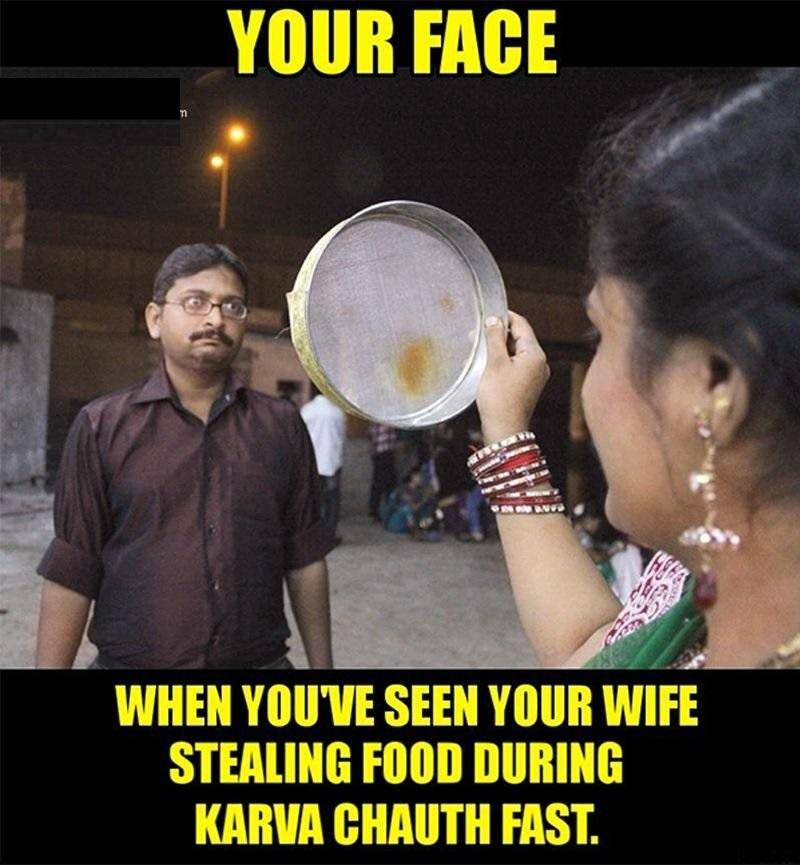 Karvachauth Joke