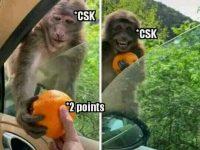 CSK vs RCB 2020 Memes
