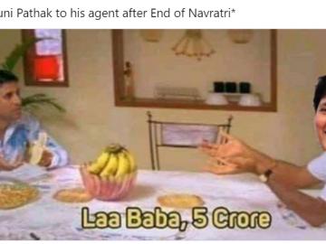 Navratri Funny Memes