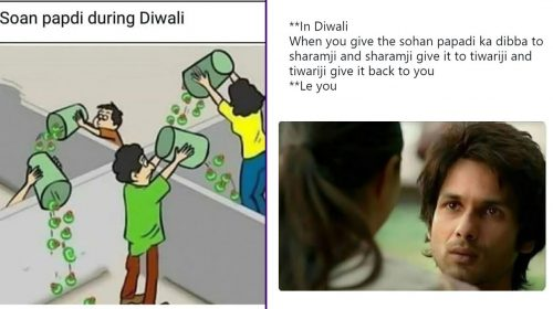 Diwali Funny Memes