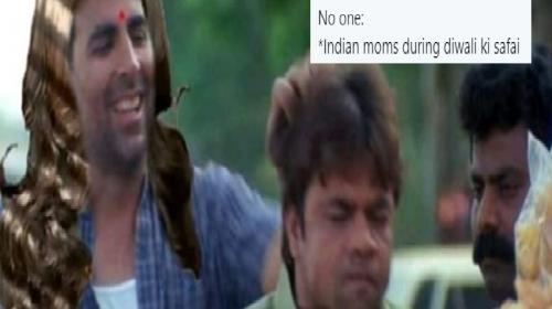 Diwali Ki Safai Memes