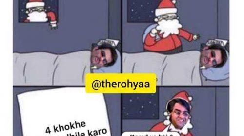 Christmas Funny Photo