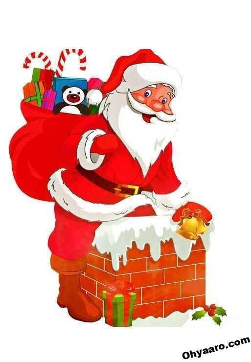 Santa Claus Funny Wishes Photo