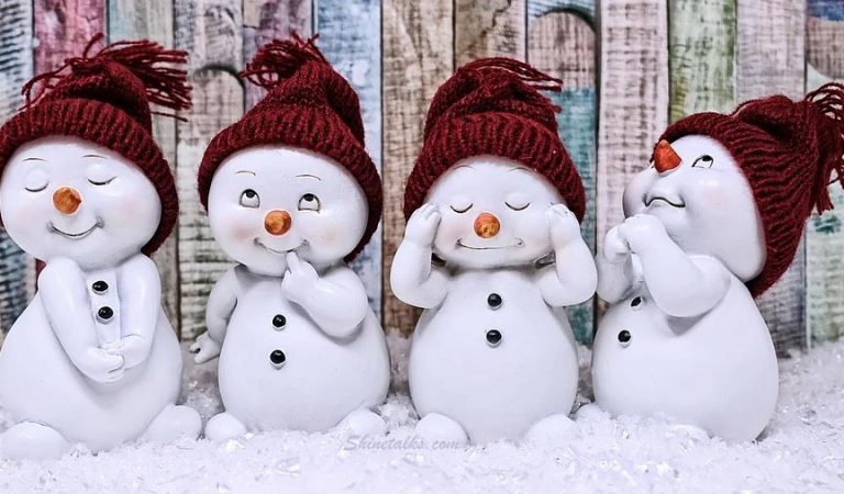 Cute Winter Snow Man Images Download