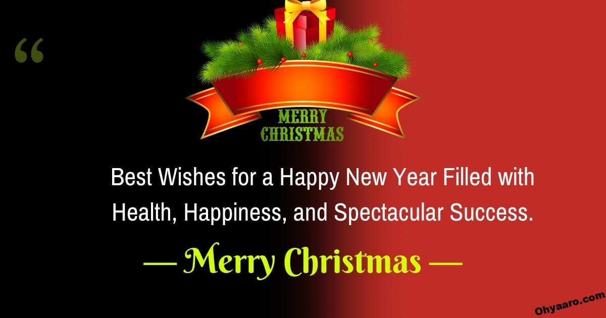 Christmas Wishes and Happy New-Year