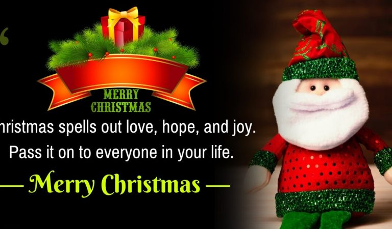 Top 10 Merry Christmas Greetings Wishes