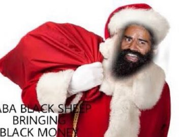 . Santa back with Black Money