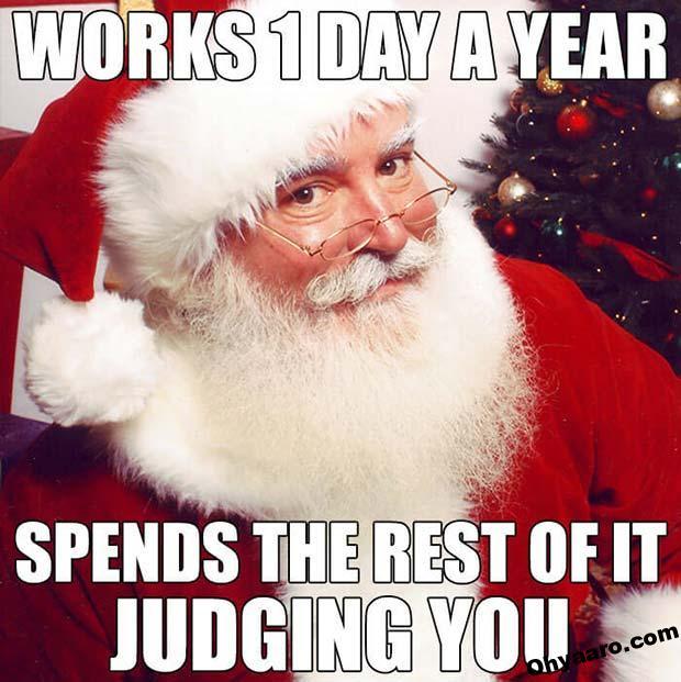 Santa Claus Funny Images