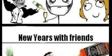 new year party JOKES