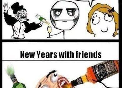 new year party JOKES