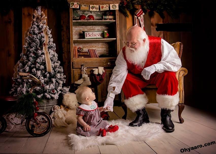 Cute Santa Clouse