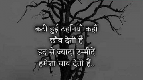 Sad Hindi WhatsApp Status
