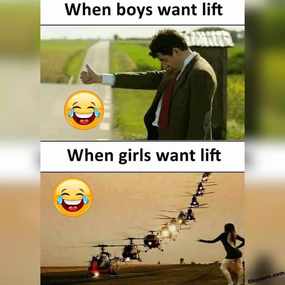 Girls vs Boys Memes Images